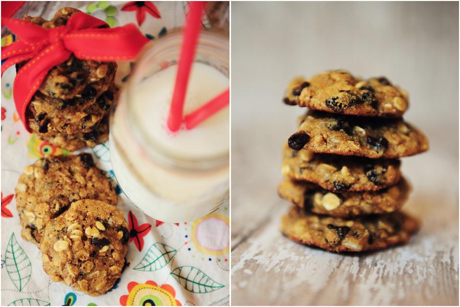 Dietetyczne ciasteczka z musli