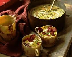 Zimowa zupa ziemniaczna